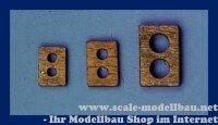 Aeronaut (5380/03) Eselshaupt (Holz) 12x19 VE 5 Stk