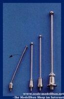 Aeronaut (5706/50) Flaggenstock (vernickelt) 50 mm VE 2 Stk