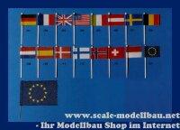 Aeronaut (7985/08) Länderflagge (Seide) Belgien VE...