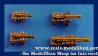 Aeronaut (6248/75) Hist. Geschütz (Holz/Ms) 75mm VE...
