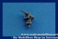 Aeronaut (6203/01) Doppelflak 3,7 cm (Plast.) 1:200 VE 5 Stk
