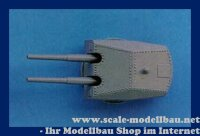 Aeronaut (6225/00) Doppelturm 15 cm (Plast.) 1:200 VE 2 Stk