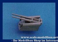 Aeronaut (6221/00) Flak in Doppellafette 10,5 cm (Plast.)...
