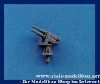 Aeronaut (6204/01) Vierlingsflak 2cm (Plast.) 1:200 VE 5 Stk