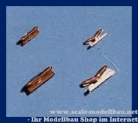 Aeronaut (5402/10) Klampe (Plast.) historisch 10 mm VE 10...