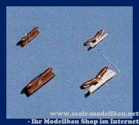 Aeronaut (5402/07) Klampe (Plast.) historisch 7 mm VE 10 Stk