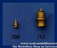Aeronaut (5664/08) Dampferlaterne (Ms) 8 mm VE 5 Stk