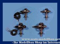 Aeronaut (5063/20) Bugleuchte (Ms, vernickelt) 20 mm