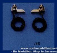 Aeronaut (5661/15) Positionslaterne (vernickelt) 15 mm VE...