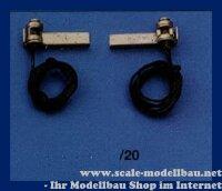 Aeronaut (5661/20) Positionslaterne (vernickelt) 20 mm VE...
