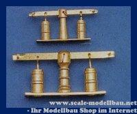 Aeronaut Doppelpumpe (Ms) 6x24 mm VE 1 Stk