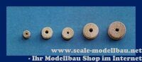 Aeronaut Block- und Seilrolle (Holz) 3 mm VE 25 Stk