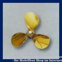 Aeronaut Schiffschr. 3-Blatt Form A M4 / 25 links lfd