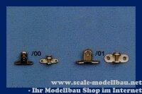 Aeronaut Halter für Spannschrauben (Ms) 13,5x5x7,5 mm