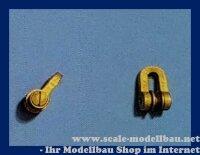 Aeronaut Schäkel (Metall) mit Rolle VE 5 Stk