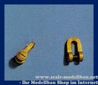 Aeronaut Schäkel (Metall) ohne Rolle VE 5 Stk