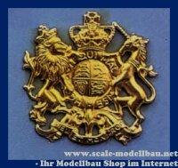 Aeronaut Wappen (Tombak) 41 x 40 mm VE 1 Stk