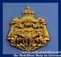Aeronaut Wappen (Tombak) 50 x 52 mm VE 1 Stk