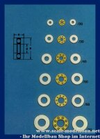 Aeronaut Axial Rillenkugellager 2,0/6 VE 1 Stk