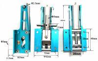 ScaleMod Fahrwerksmechanik Maxi XL Vorderrad ( - 8 kg) (1...