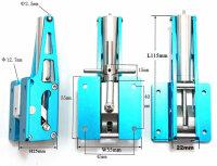 ScaleMod Fahrwerksmechanik Maxi XXL Vorderrad lenkbar ( -...