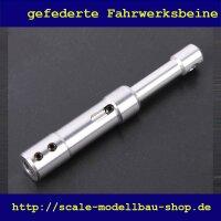 ScaleMod gefedertes Fahrwerksbein Doppelbereifung 75 mm