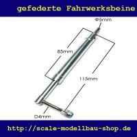 ScaleMod gefedertes Fahrwerksbein 115 mm