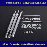 ScaleMod gefederte Fahrwerksbeine 3-Bein Kit 110/100 mm