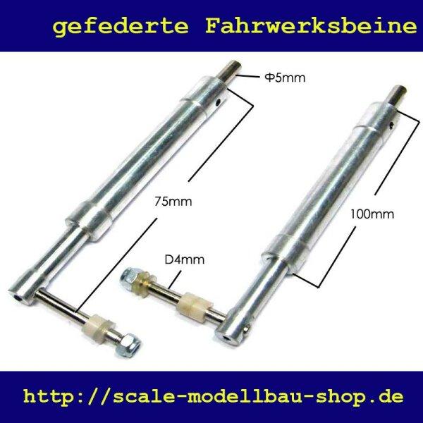 ScaleMod gefederte Fahrwerksbeine 2-Bein Kit 100,5 mm