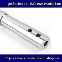 ScaleMod gefedertes Fahrwerksbein Doppelbereifung 138 mm