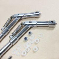 ScaleMod gefederte Fahrwerksbeine 2-Bein Kit 120 mm
