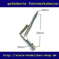 ScaleMod gefedertes Fahrwerksbein 120 mm
