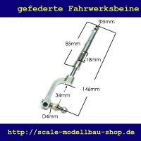 ScaleMod gefedertes Fahrwerksbein 146 mm