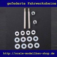ScaleMod gefederte Fahrwerksbeine 2-Bein Kit 140 mm