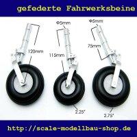 ScaleMod gefederte Fahrwerksbeine 3-Bein Kit 120/106 mm