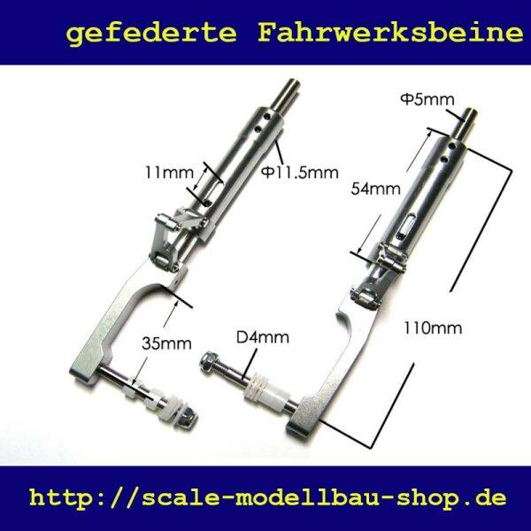 ScaleMod gefederte Fahrwerksbeine 2-Bein Kit 110 mm