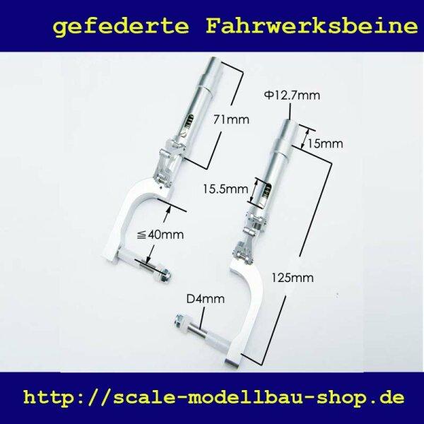 ScaleMod gefederte Fahrwerksbeine 2-Bein Kit 125 mm