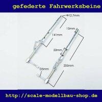 ScaleMod gefederte Fahrwerksbeine 2-Bein Kit 205 mm