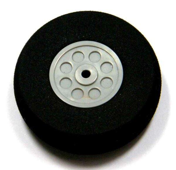 ScaleModMod Rad mit Moosgummi Reifen D60x24 mm 3mm Achse
