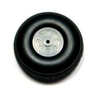 ScaleModMod Rad mit PU Reifen 101,6x30 mm Achse 5mm