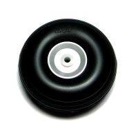 ScaleModMod Rad mit Gummi Reifen 63,5x24mm Achse 4 mm