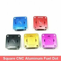 ScaleMod CNC Tankarmatur aus Aluminium Blau