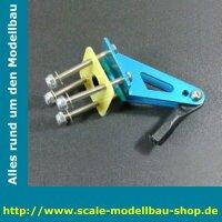 ScaleMod Aluminium Ruderhorn für Großmodelle
