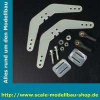 ScaleMod Ruderhorn zum einleimen Fiberglass D3 x 1,5 x...