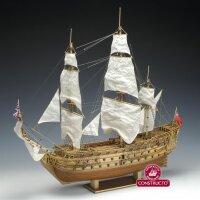"""Baukasten Linienschiff """"H.M.S. Prince"""" (1670)..."""