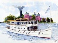 """Baukasten Dampf-Passagierschiff """"S/S Marifred""""..."""