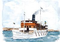 "Baukasten Dampfschiff ""S/S Bohuslän""..."