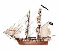 """Baukasten Brigantine Freibeuterschiff """"Corsair""""..."""