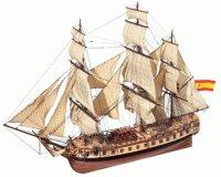 """Baukasten span. Fregatte """"Diana """" (1792)..."""