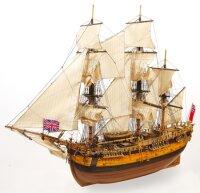 """Baukasten Brigantine """"H.M.S. Endeavour"""" (1765)..."""